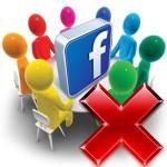 Удалить группу в Facebook