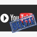 Удалить видео с Youtube