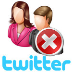 Удалить учетную запись в Твиттере