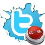 Закрыть профиль в Твиттере