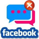 Удалить сообщение в Фейсбук