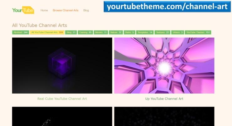 Скачать готовую картинку для канала на Youtube
