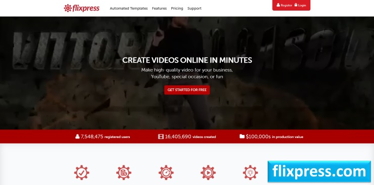 Создать интро для канала Youtube онлайн