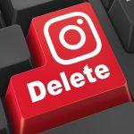 Удалить страницу в Инстаграме